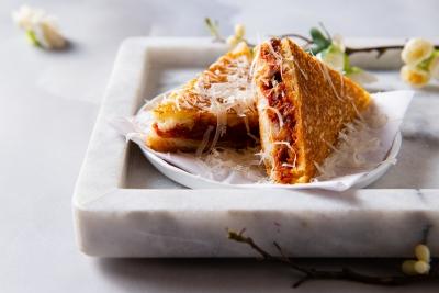 05.-Wagyu-Kimchi-Toastie-with-Parmesan-Shavings-Dish